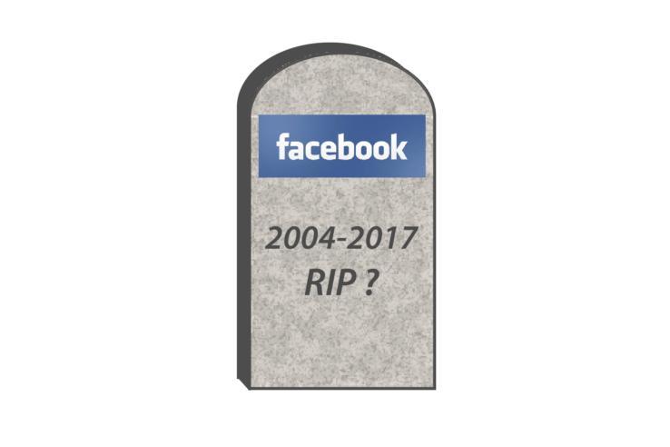Facebbok gravestone