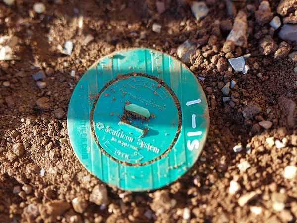 Sentricon AlwaysActive installed in the ground