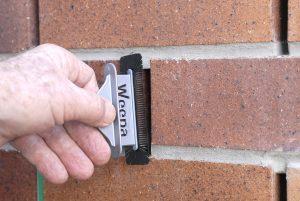Weepa Termite Protector being installed