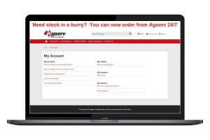 Agserv order portal image