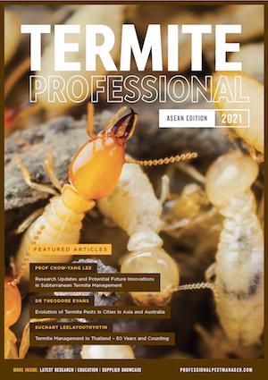 Termite Professional magazine ASEAN 21 front cover